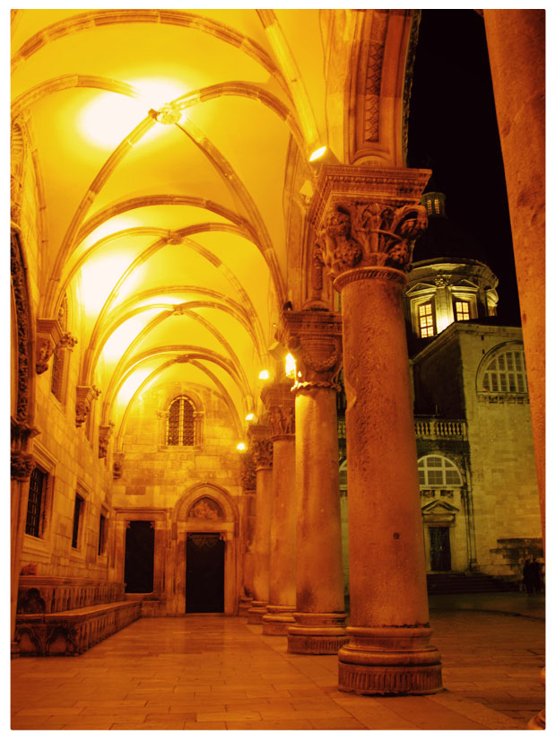 Rector's Palace in Old Town Dubrovnik