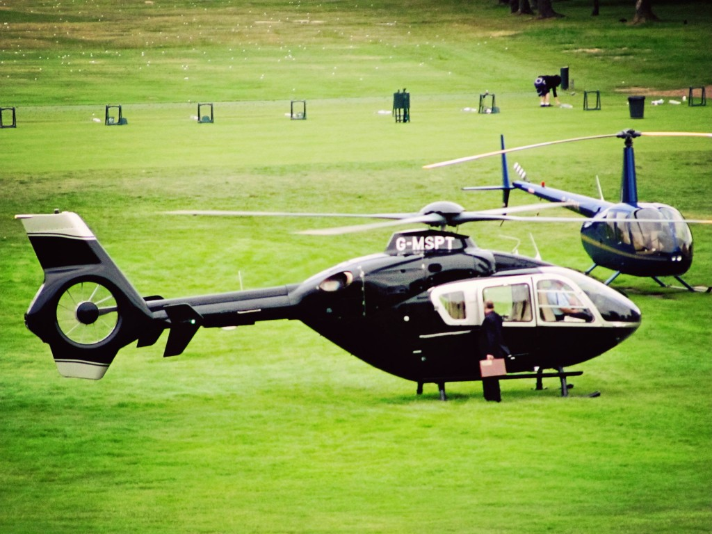 Stoke Park Helicopter