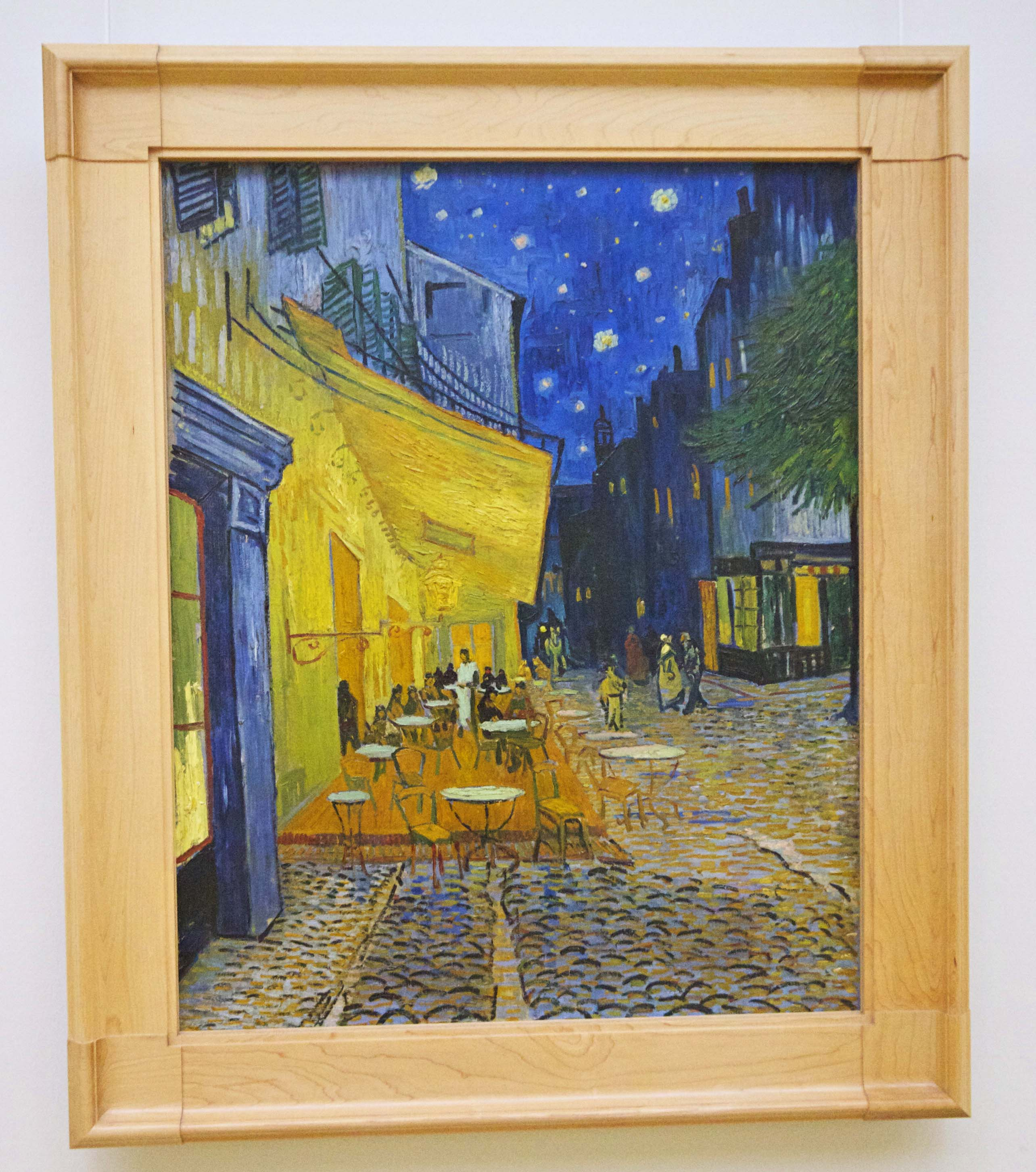 Van Gogh Cafe Terrace at Night Kroller Muller Museum
