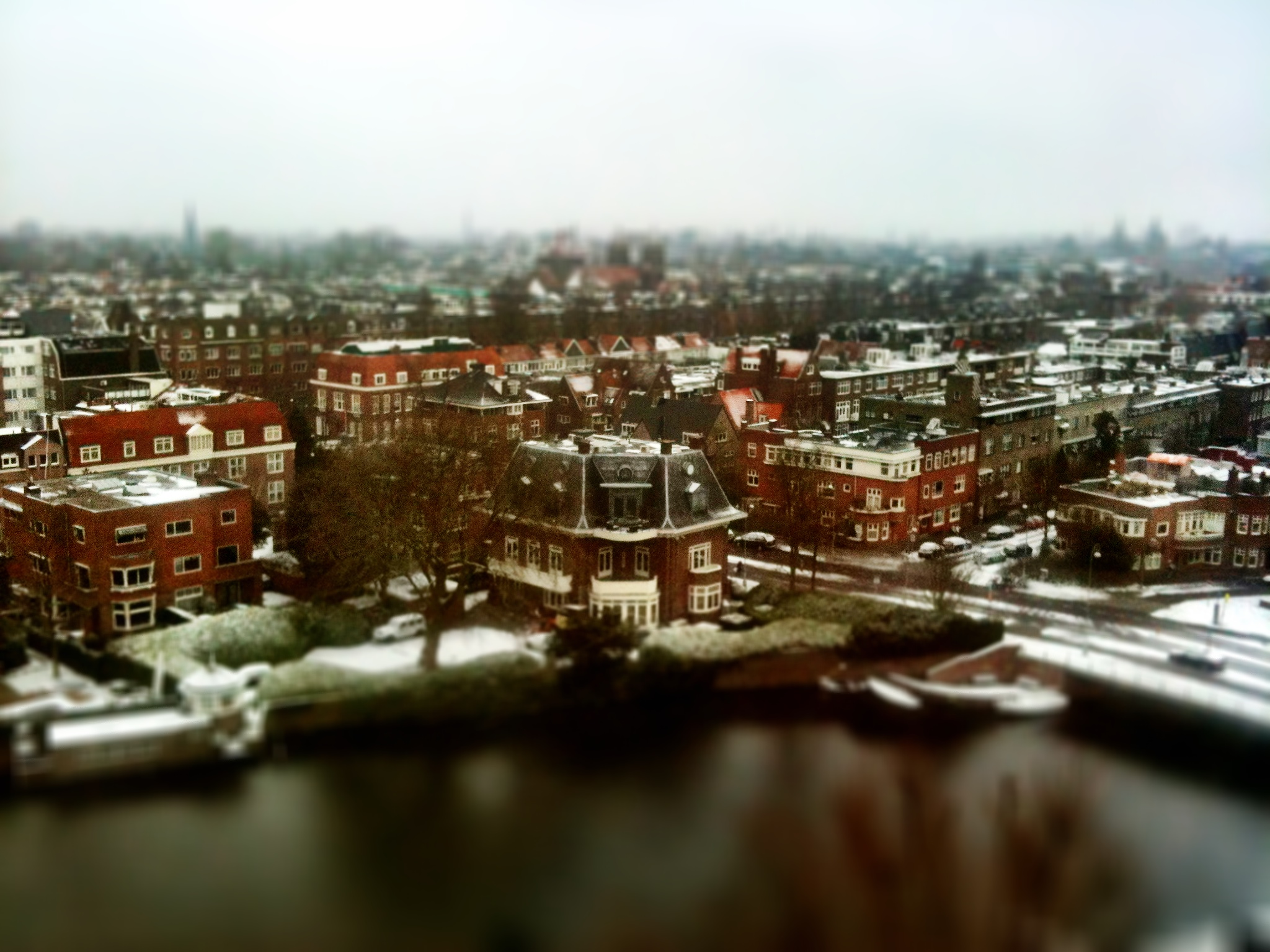 Amsterdam from Hilton