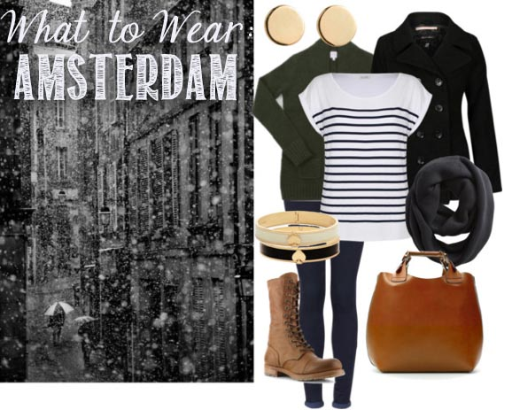 what to wear in amsterdam cold and snowy days