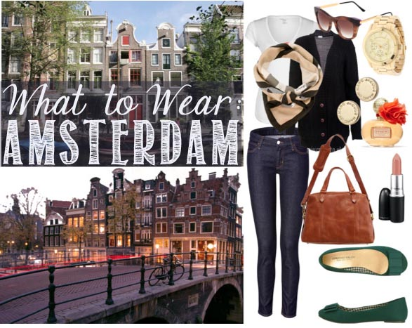 what to wear in amsterdam sunny day