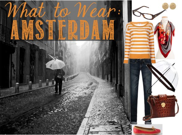 what to wear in amsterdam rainy days