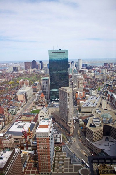 boston skyline prudential tower