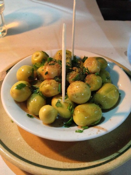 moroccan spiced olives