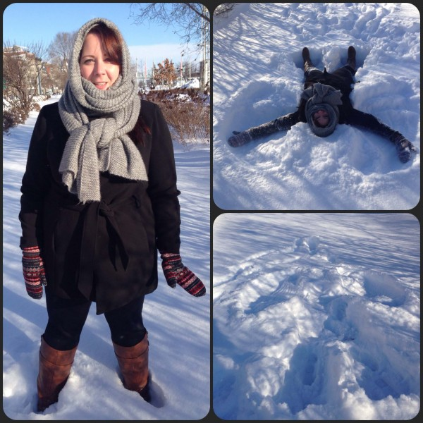 montreal snow angel
