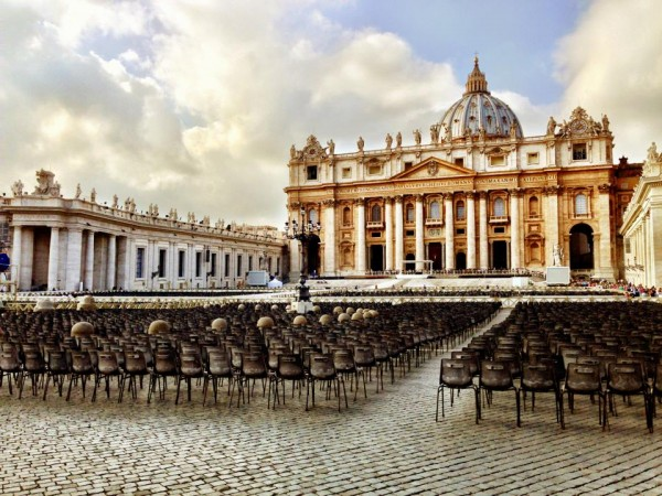 st peters vatican rome italy