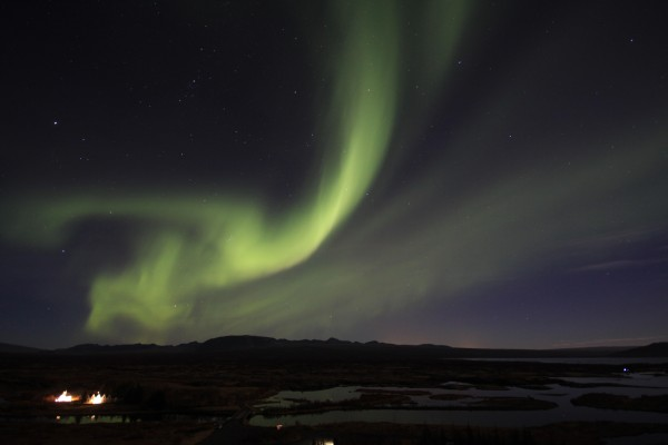 northern lights aurora borealis iceland