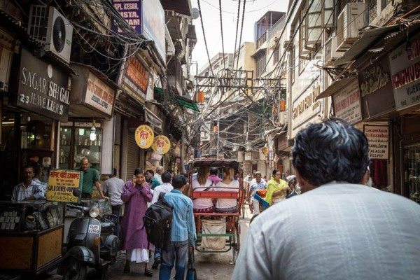 chandni chowk old delhi india