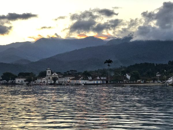 paraty sunset